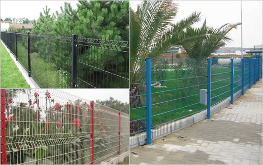 Garden Fence For Preventing Climbing And Trampling