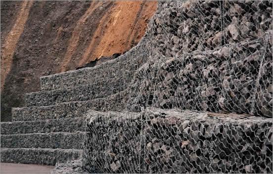 Gabion Mesh For Rives Dams And Sea Walls